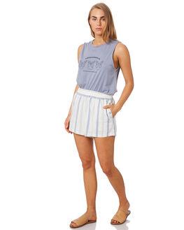 BLUE STRIPE WOMENS CLOTHING ELWOOD SHORTS - W94608BI2
