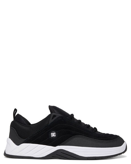BLACK/WHITE MENS FOOTWEAR DC SHOES SNEAKERS - ADYS100539-BKW