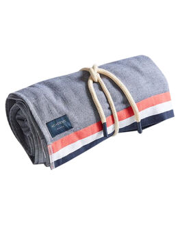 NAVY MENS ACCESSORIES ACADEMY BRAND TOWELS - 19S012NVY