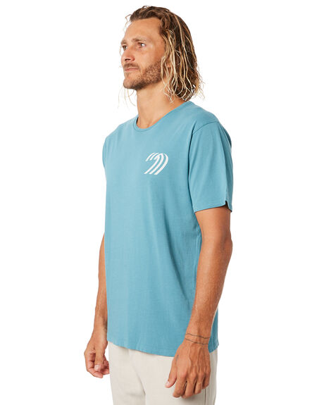 WASHED SAPPHIRE MENS CLOTHING MOLLUSK TEES - MS1437WSHSPH