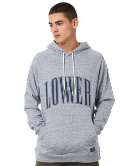 GREY MARLE MENS CLOTHING LOWER JUMPERS - LO18Q3MSW05GRYM