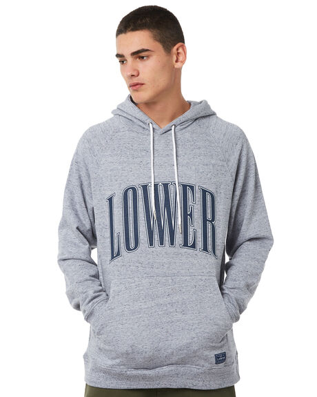 GREY MARLE OUTLET MENS LOWER JUMPERS - LO18Q3MSW05GRYM