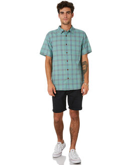 PON ILLUSION PLAID MENS CLOTHING OUTERKNOWN SHIRTS - 1310127PIP
