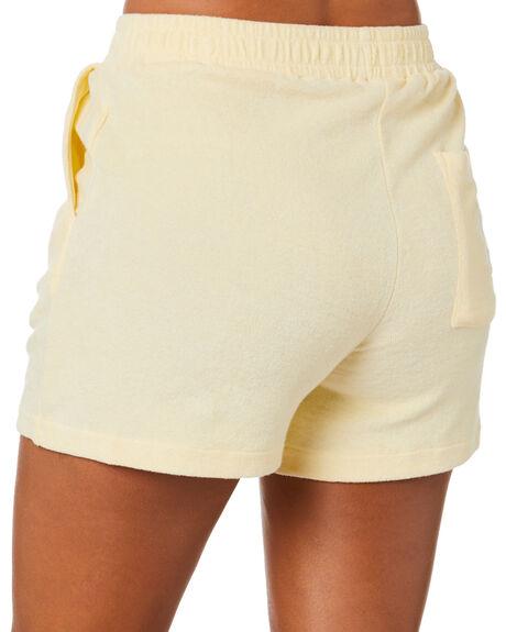 LEMON WOMENS CLOTHING STUSSY SHORTS - ST1M0175LMN