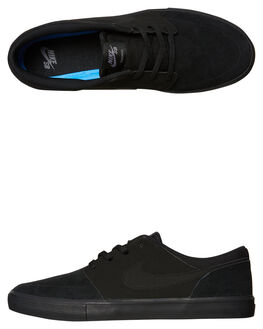 BLACK BLACK MENS FOOTWEAR NIKE SNEAKERS - SS880266-005M