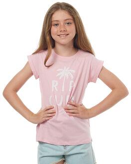 PINK KIDS GIRLS RIP CURL TEES - JTECS10020