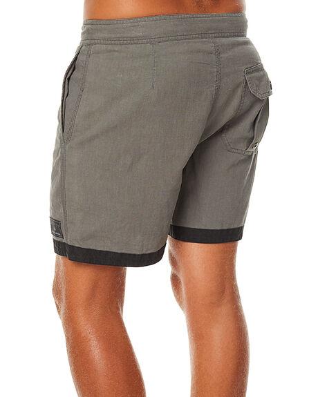DUSTY OLIVE MENS CLOTHING AFENDS BOARDSHORTS - 10-01-069DOLI