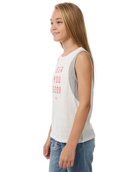 MARSHMALLOW KIDS GIRLS ROXY SINGLETS - ERGZT03268WBT0
