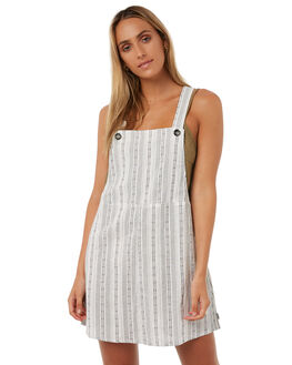 WHITE WOMENS CLOTHING RHYTHM PLAYSUITS + OVERALLS - JAN18W-DR07-WHTWHT