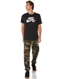 MEDIUM OLIVE MENS CLOTHING NIKE PANTS - AT9883222