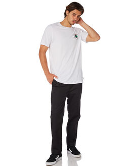 WHITE MENS CLOTHING GLOBE TEES - GB01820007WHT