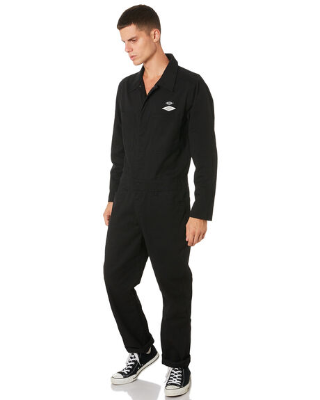 BLACK MENS CLOTHING VOLCOM PANTS - A2811950BLK