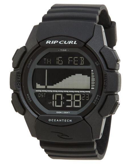 MIDNIGHT MENS ACCESSORIES RIP CURL WATCHES - A11334029