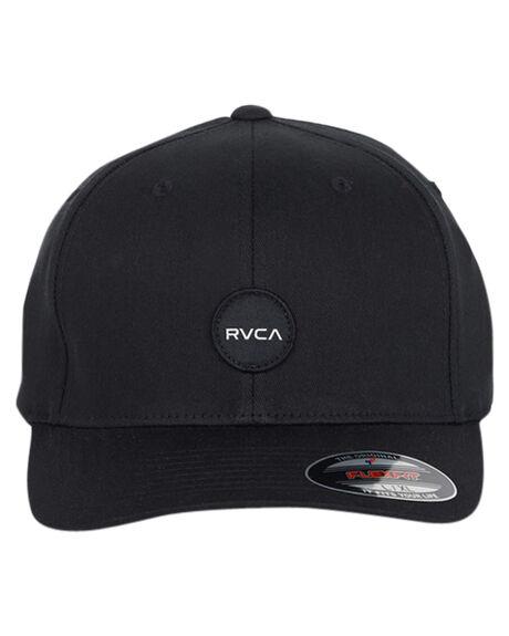 BLACK MENS ACCESSORIES RVCA HEADWEAR - R391564BBLK