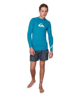ed911e84e8 ... CRYSTAL TEAL BOARDSPORTS SURF QUIKSILVER MENS - UQYWR03098-BRN0.  QUIKSILVER 1 Mens All Time Long Sleeve Upf 50 Rash Vest