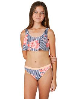 MEDIEVAL BLUE KIDS GIRLS ROXY SWIMWEAR - ERGX203179BTE7