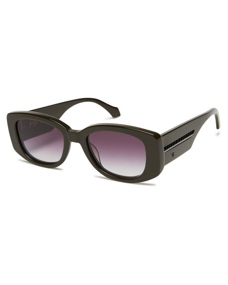 ARMY GREEN MENS ACCESSORIES VALLEY SUNGLASSES - S0498AGRN