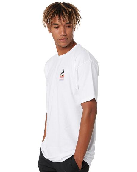 WHITE MENS CLOTHING VOLCOM TEES - A3532003WHT