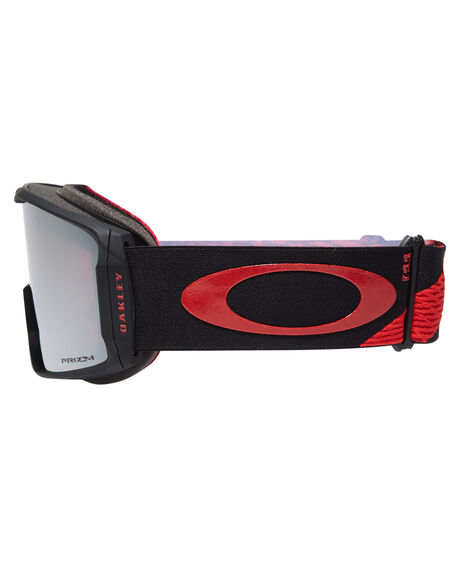 RED BLACK PRIZM BOARDSPORTS SNOW OAKLEY GOGGLES - OO7070-41RDBLK