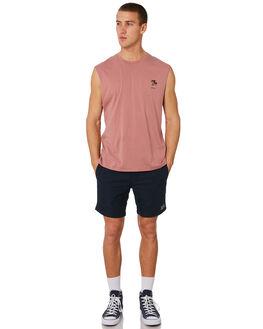 ROSE MENS CLOTHING BARNEY COOLS SINGLETS - 133-CR3ROSE