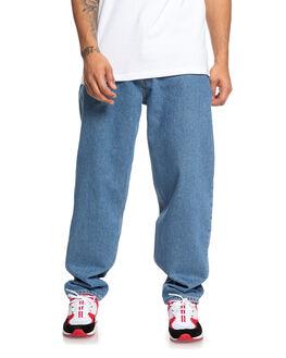 MEDIUM STONE MENS CLOTHING DC SHOES JEANS - EDYDP03410-BNTW