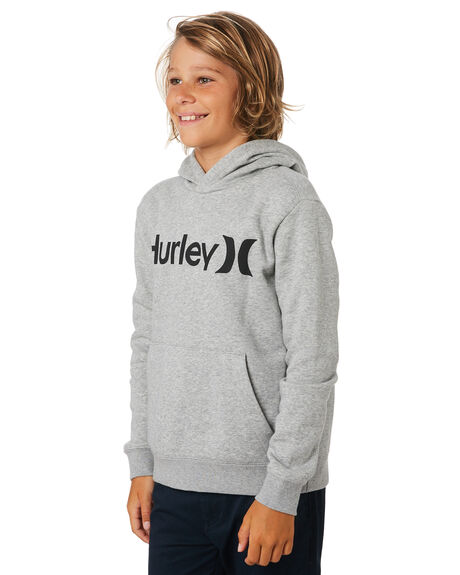 DARK GREY HEATHER KIDS BOYS HURLEY JUMPERS + JACKETS - AO2210063