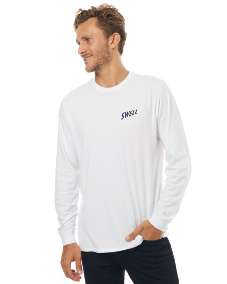 WHITE MENS CLOTHING SWELL TEES - S5171100WHT