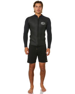 BLACK BOARDSPORTS SURF DEUS EX MACHINA MENS - DMP91431DBLK