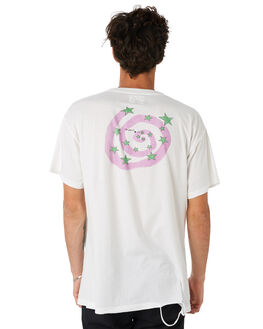 WHITE MENS CLOTHING THE PEOPLE VS TEES - HS19060WHT