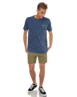 BLUE MENS CLOTHING VOLCOM TEES - A4341771BLU