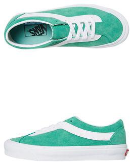 GREEN SPRUCE WOMENS FOOTWEAR VANS SNEAKERS - SSVN0A3WLPWP6GRNW
