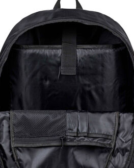 BLACK MENS ACCESSORIES DC SHOES BAGS + BACKPACKS - EDYBP03231-KVJ0