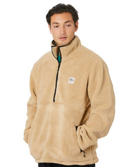 LIGHT TAN MENS CLOTHING STUSSY JACKETS - ST006511LTTAN