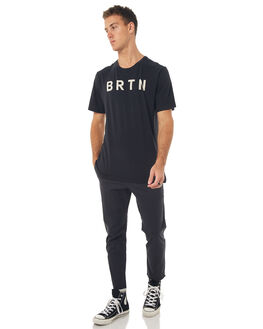 TRUE BLACK MENS CLOTHING BURTON TEES - 160291001
