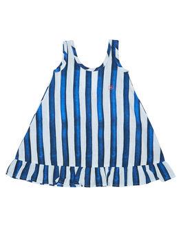 BLUE STRIPE KIDS TODDLER GIRLS MUNSTER KIDS DRESSES - MM172DR06BLSTR