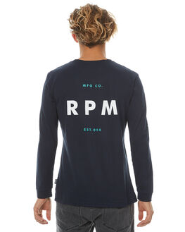 NAVY MENS CLOTHING RPM TEES - 7PMT10ANVY