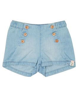 LIGHT BLUE KIDS TODDLER GIRLS ROXY SHORTS - ERLDS03025BLCW