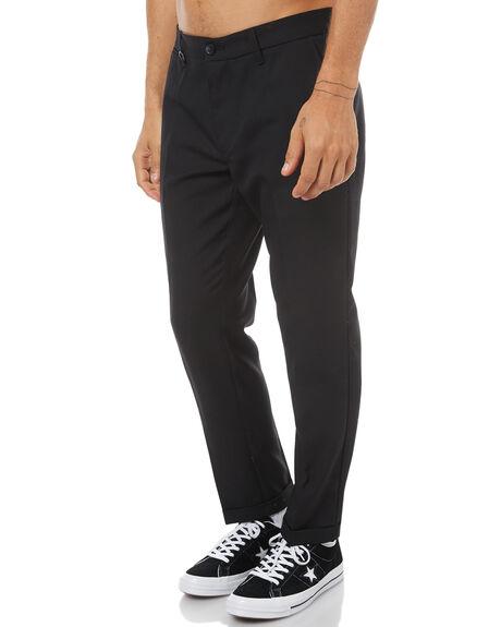 BLACK WOOL MENS CLOTHING NEUW PANTS - 32144B2564