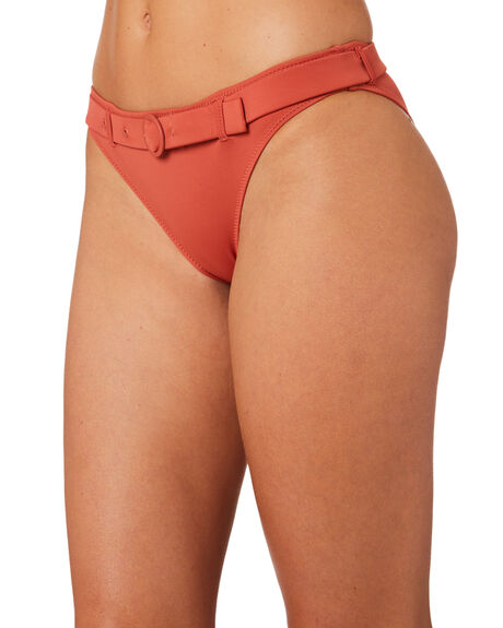 CLAY OUTLET WOMENS SOLID AND STRIPED BIKINI BOTTOMS - WS-1944-1520CLY