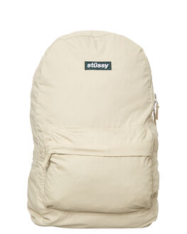 LIGHT SAND MENS ACCESSORIES STUSSY BAGS - ST773027SAND
