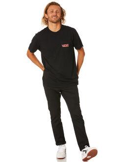BLACK CALYPSO CORAL MENS CLOTHING VANS TEES - VN0A2YQVDJ2BLK