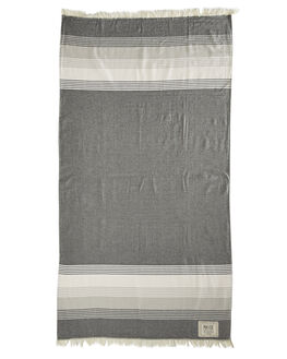 BLACK WHITE ACCESSORIES TOWELS MAYDE  - 16JERVBKWHT