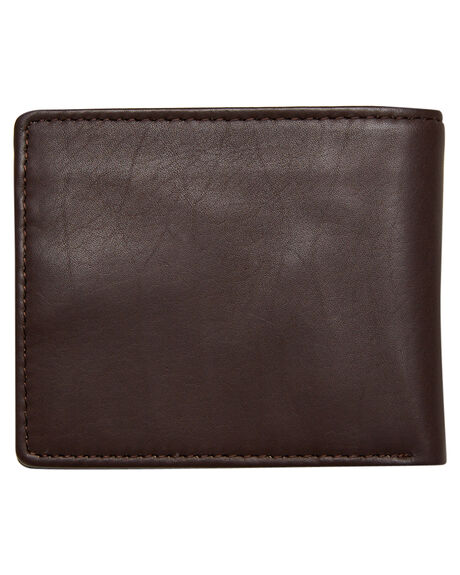 BROWN STONE MENS ACCESSORIES VOLCOM WALLETS - D7511376BRS