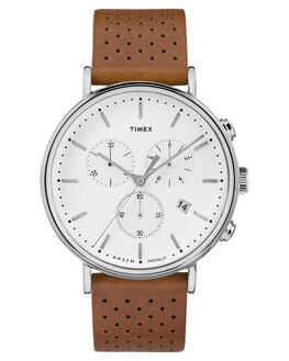 TAN WHITE MENS ACCESSORIES TIMEX WATCHES - TW2R26700TANWH