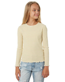 YELLOW KIDS GIRLS EVES SISTER TOPS - 9550044YLW