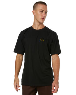BLACK MENS CLOTHING RPM TEES - 7HMT02ABLK