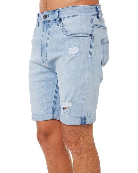 WASHED BLUE MENS CLOTHING BILLABONG SHORTS - 9582708WBLU
