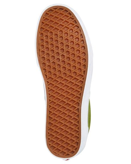 CALLA GREEN MENS FOOTWEAR VANS SNEAKERS - VN0A4U39WZ6CGRN