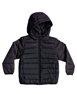 BLACK KIDS BOYS QUIKSILVER JUMPERS + JACKETS - EQKJK03103-KVJ0