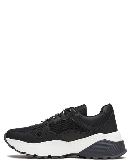 BLACK WOMENS FOOTWEAR THERAPY SNEAKERS - 9956BLK